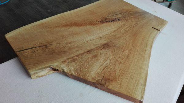 Couchtischplatte aus Eichenholz