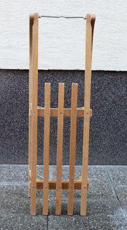 Holzschlitten 100 cm Buche wenig