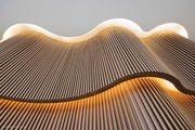 Stahlunterkonstruktionen für Holzdurchzüge und Skulpturen