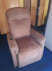 Elektronischer TV Sessel mit Aufstehhilfe