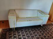 Design Leder Sofa BMP 2-Sitzer