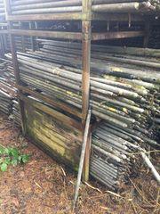 Eisenstangen verzinkt Zaunstangen