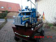 Bollerwagen aus Holz mit integrierter