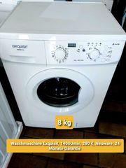Waschmaschine Exquisit 8kg 1400Umin Neuware