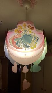 Disney Prinzessinnen Lampe