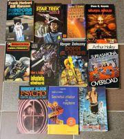 9 Bücher auf rumänisch-Romania-Star Treck-A