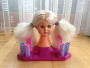 Puppen Schmink- und Frisierkopf