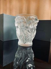 Lalique Vase Bacchantes KlarKristall