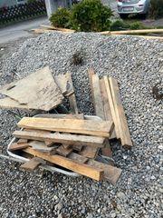 Brennholz Latten Holz