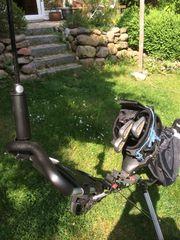 3-Rad Golf-Trolley aus Alu mit