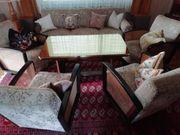 Wohnzimmergarnitur 4 Sessel 1 Sofa