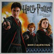 Harry Potter Wandkalender 2009 engl