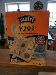 swirl Staubsauger beutel Y293 NEU