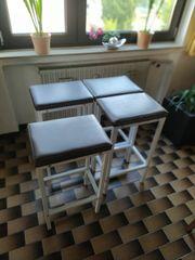 Bar-Tisch mit 4 Hocker