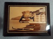 Bild aus Holz 23x17 cm