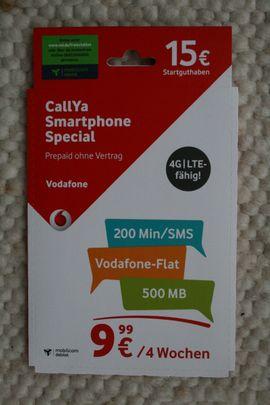 Sonstiges Zubehör - CallYa Smartphone Special Talk SMS -
