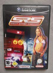 Gamecube Spiel - SRS Street Racing