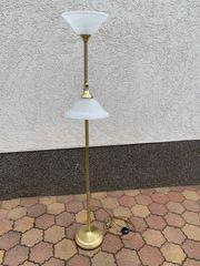 Stehlampe Gold Wohnen Leuchte Lampe