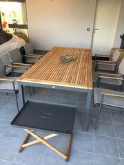 Gloster Garten Sitzgruppe 6 Stühle