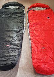 2 Schlafsäcke koppelbar