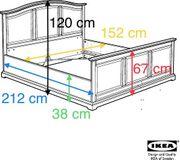 IKEA BIRKELAND BETT 140x200 cm