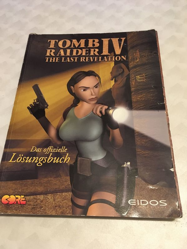 Lösungsbuch Tomb Raider IV - The