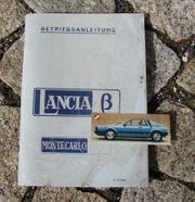 Betriebsanleitung Lancia Montecarlo I 1976