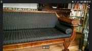 Biedermeier Empire Sofa von ca