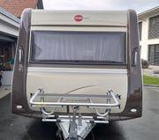 Verkaufe Wohnwagen Bürstner Trecento 465