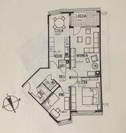 3 Zimmer-Wohnung mit Loggia auf