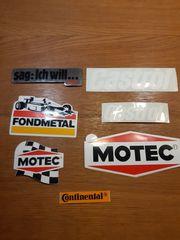 Aufkleber CASTROL MOTEC Continental FONDMETAL