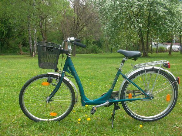 7 Gänge Neuwertiges 26 Zoll Fahrrad Fahrräder