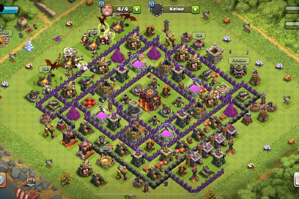 Clash Of Clans RH TH