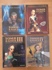 Tomb Raider Lösungsbücher Lara Croft