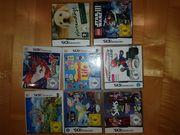 Nintendo 3DS verschiedene Spiele