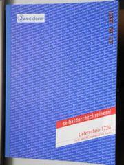 Formularblock Zweckform Lieferschein A4 - Büromaterial -