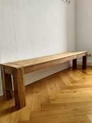 Stilvolle Sitzbank