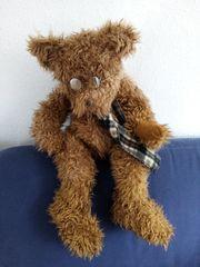 SunKid brauner Plüsch-Teddybär mit Brille