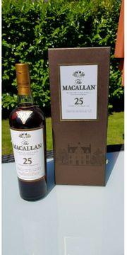 Macallan 25yo SherryOak bottled 2007-2009