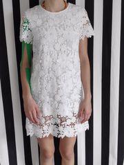 weißes Mädchenkleid Größe 146