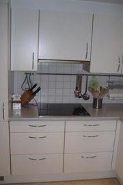 Tischlerküche in gutem Zustand