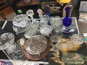 verschiedene Glasartikel