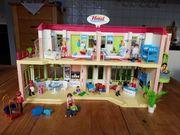 Playmobil Hotel kaum bespielt