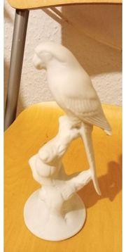 Porzellan Vögel und Elefanten gemarktet