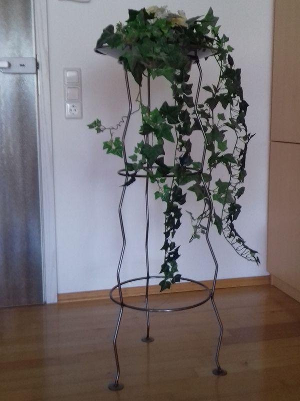 Blumensäule Blumenständer Pflanzen-Dekoständer Metallständer