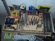 Werkzeugen Maschinen und Schweißgerät