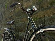 Schönes Damen-Fahrrad der Marke Hercules