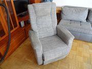 Polster RELAX-Sessel grau meliert