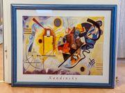 3 Kunstdrucke Kandinsky mit Rahmen