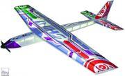 Shiny RC-Spaßflieger aufgerüstet für tags
